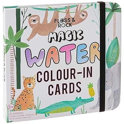 Floss & Rock, Magic Water Cards, Jungle (38P3416): Arts, Crafts & Sewing