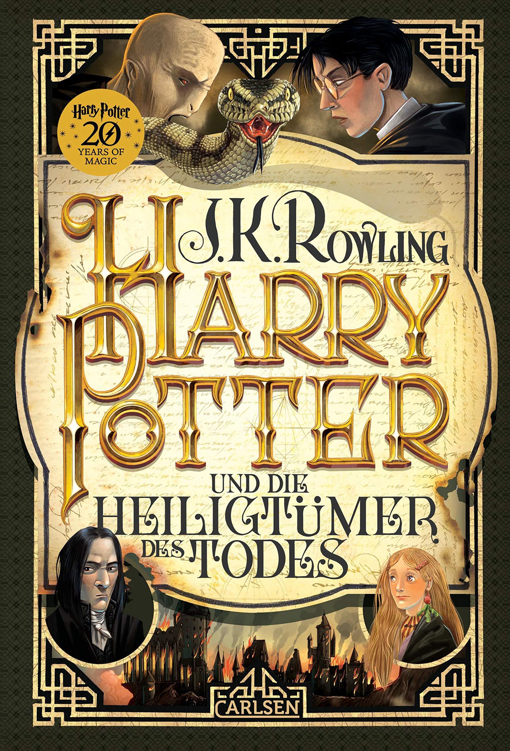 Harry Potter und die Heiligtümer des Todes (Harry Potter 7) Gebundenes Buch – 31. August 2018 J.K. Rowling Klaus Fritz Carlsen 3551557470