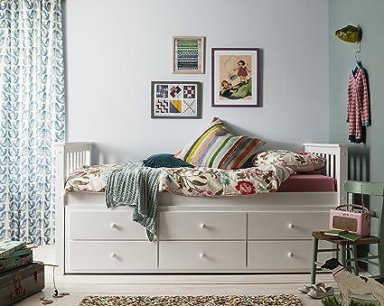 Cama nido Loki de Noa y Nani, cama individual con cajones y cama nido extraí