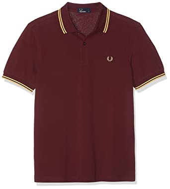 Fred Perry Twin Tipped Shirt Polo para Hombre