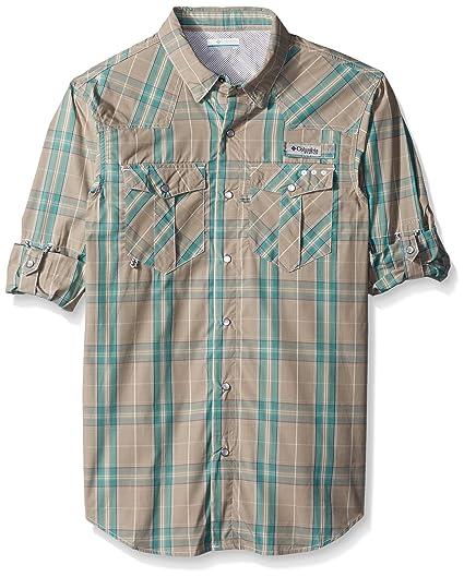 e3a80cc204e Amazon.com : Columbia Sportswear Men's Bead Head Long Sleeve Shirt ...