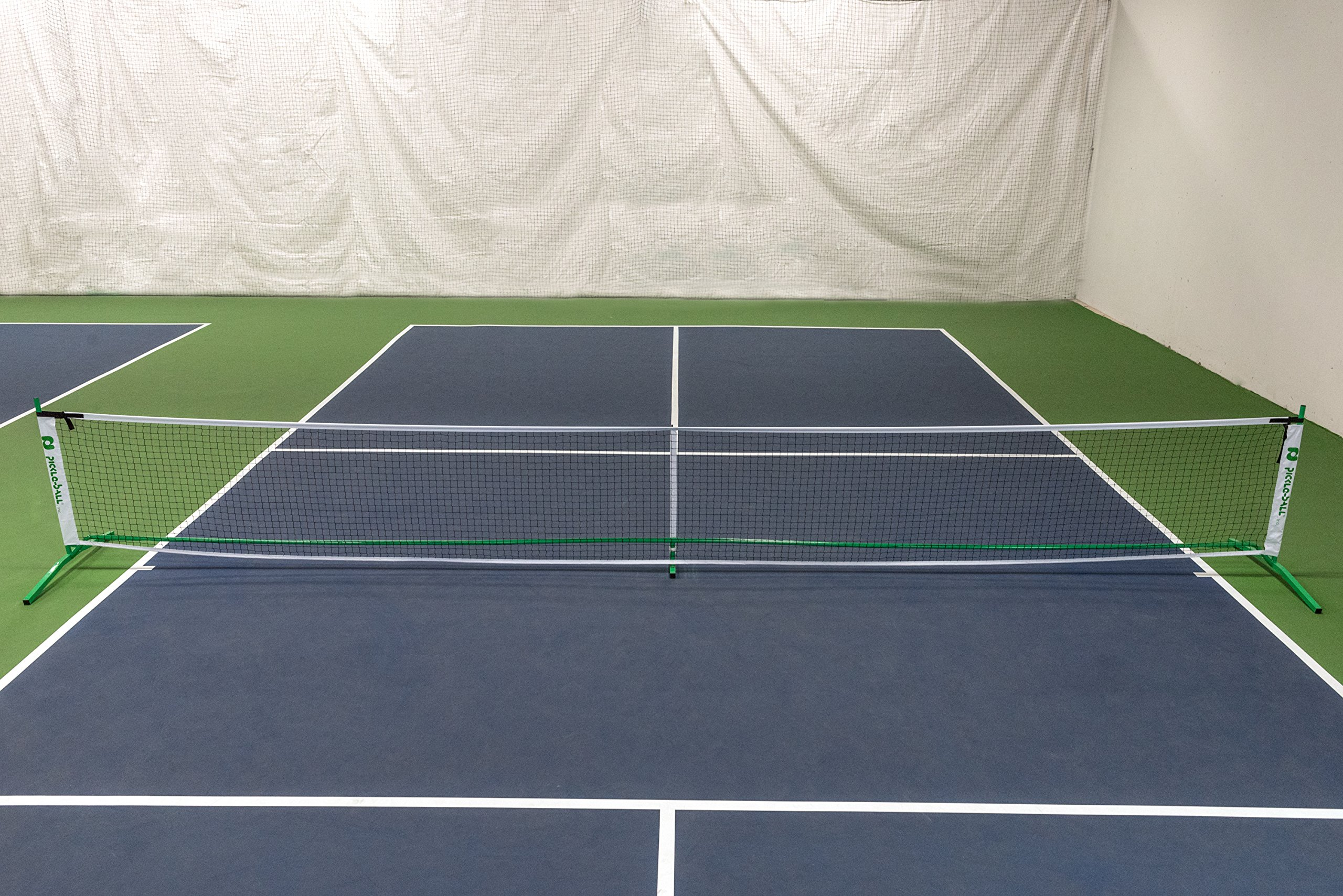 Pickle-Ball, Inc. Pickleball Diller Tournament Net Set (Set Includes Metal Frame + Net + 4 paddles + 4 balls + Rules Sheet in Carry Bag) by Pickle-Ball (Image #5)