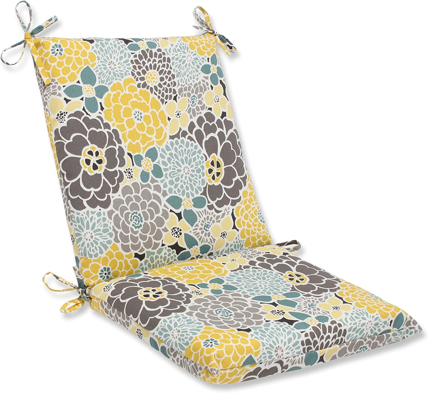 Pillow Perfect 615592 Fresco Navy CL Cushion, 80 in. L X 23 in. W X 3 in. D