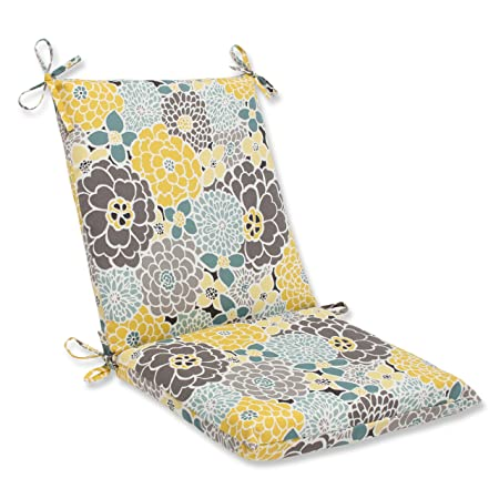 Pillow Perfect Outdoor Full Bloom Squared Corners Chair Cushion