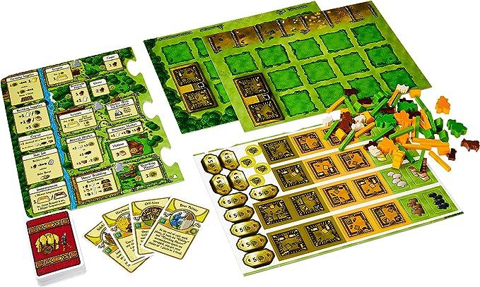 Mayfair Games mfg03516 – de Tablero Agricola Expansion 5 – 6 Players: Amazon.es: Juguetes y juegos