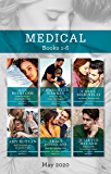 Medical Box Set 1-6 May 2020/Awakened by Her Brooding Brazilian/Falling for the Single Dad Surgeon/The Nurse's Reunion Wish/Baby Bombshell for (A Summer in São Paulo)