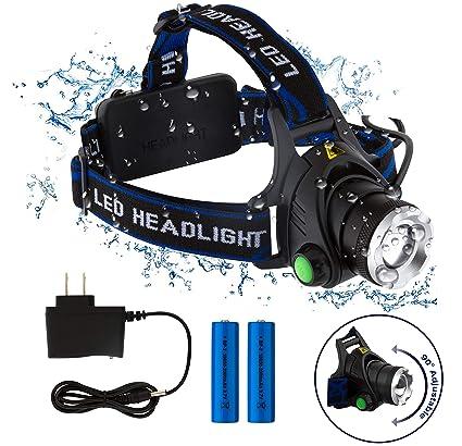 Amazon.com: Linterna frontal LED superbrillante para adultos ...