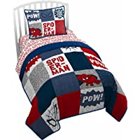 Jay Franco Marvel Spiderman Spidey Sense Twin Quilt (Official Marvel Product)