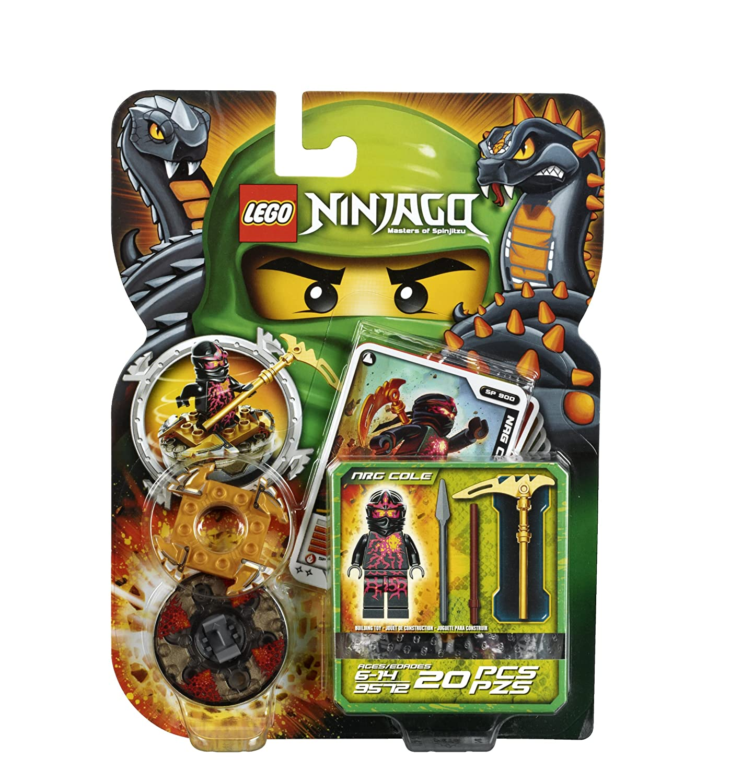 amazoncom lego ninjago 9572 nrg cole toys games
