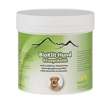 bioklit perro | klinop tilolith de zeolitos 350 g – Precioso pelo y fuerza