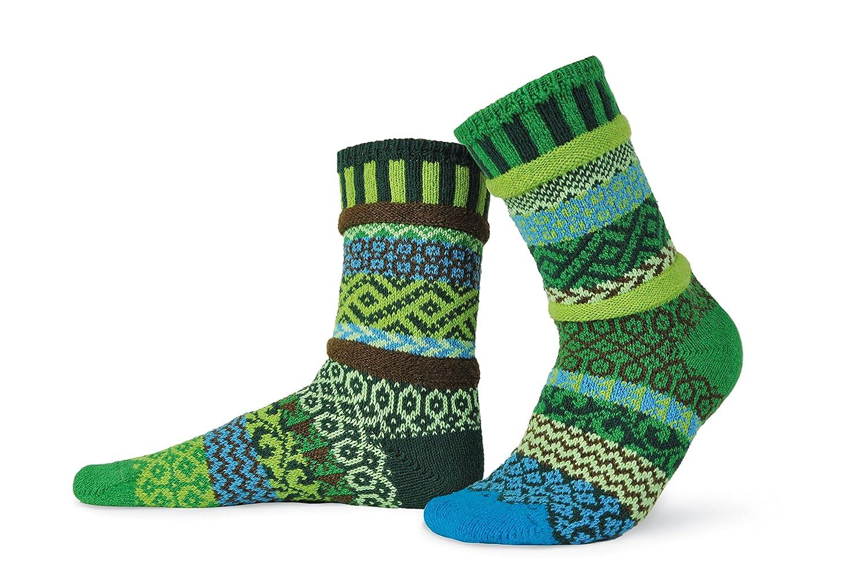 Chaussettes mesappariement Fabrique avec des fils de coton recycle Solmate Socks