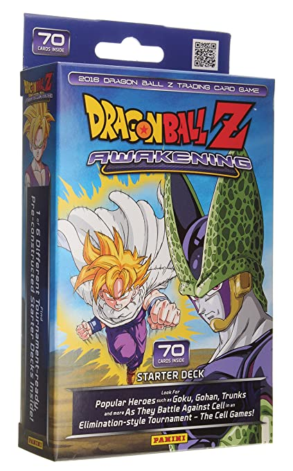Amazon dragonball z awakening starter deck 70 cards toys games dragonball z awakening starter deck 70 cards publicscrutiny Gallery