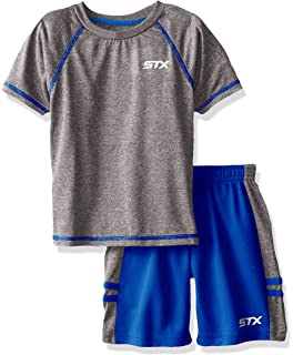 Mad Game Boys 4-Piece Performance Short Sleeve T-Shirt and Short Set