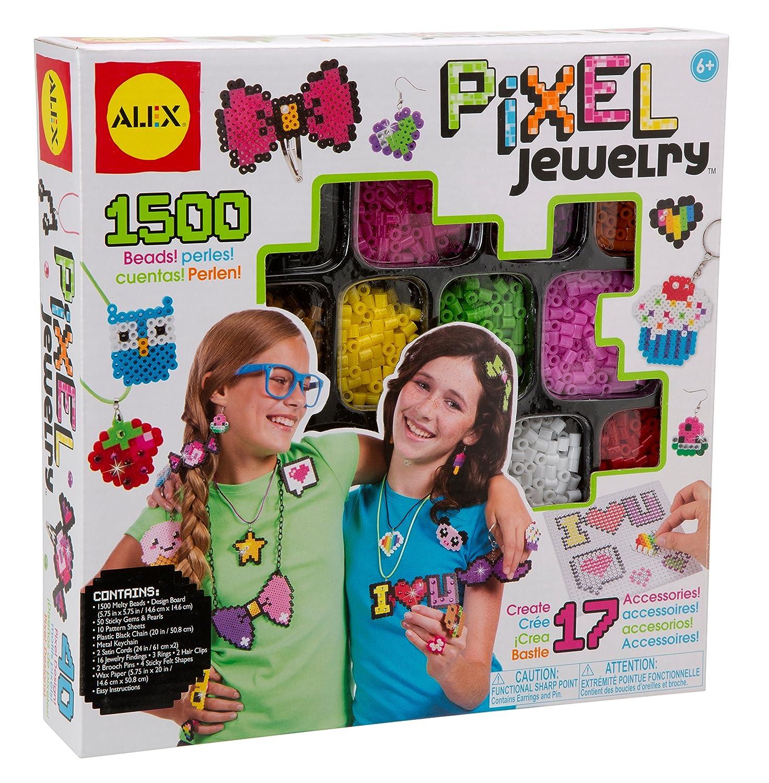 Amazon ALEX Toys DIY Wear Pixel Jewelry Kit Toys & Games