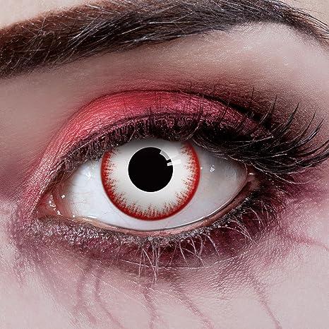 Couleur des lentilles de contact Zombie Night de aricona – pour les yeux  sombres et claires 79a58fa413b8
