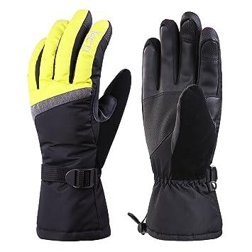03da6d1834923b MCTi Skihandschuhe Damen Touchscreen Handschuhe Warm Winterhandschuhe  Snowboard Winter Wasserdicht Thinsulate