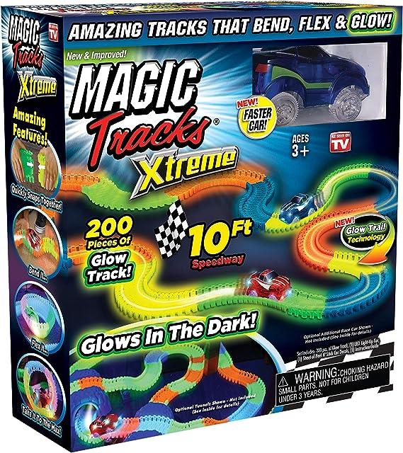 Ontel Magic Tracks Xtreme - Race Car & 10' of Flexible