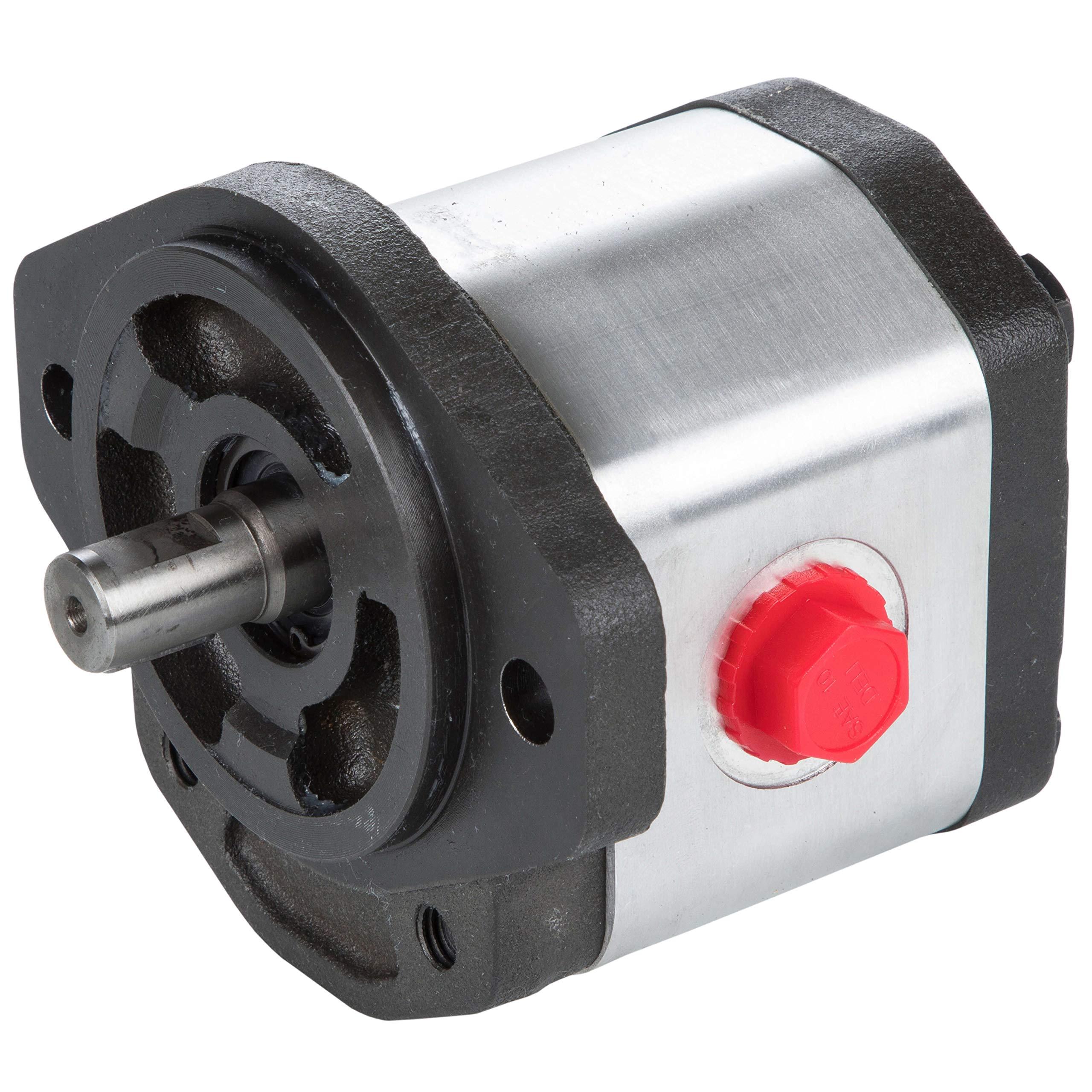 RuggedMade Hydraulic Gear Pump, 9 GPM Single Stage, Clockwise Rotation, 3600 PSI