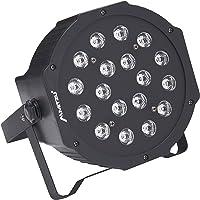 Mitzu MSL-9050 Luz LED RGB con Display, Par 64