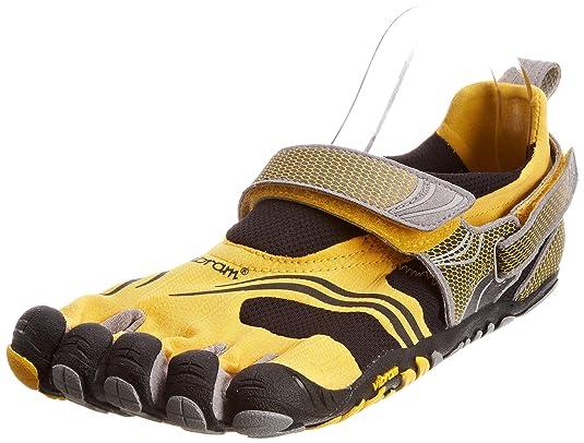Vibram Fivefingers Escarpines Fitness M3648 KMD Amarillo/Plata/Gris EU 47: Amazon.es: Zapatos y complementos
