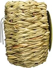 Prevue Hendryx Pet Products BPV1151 Finch Covered Twig Birds Nest, 4-Inch