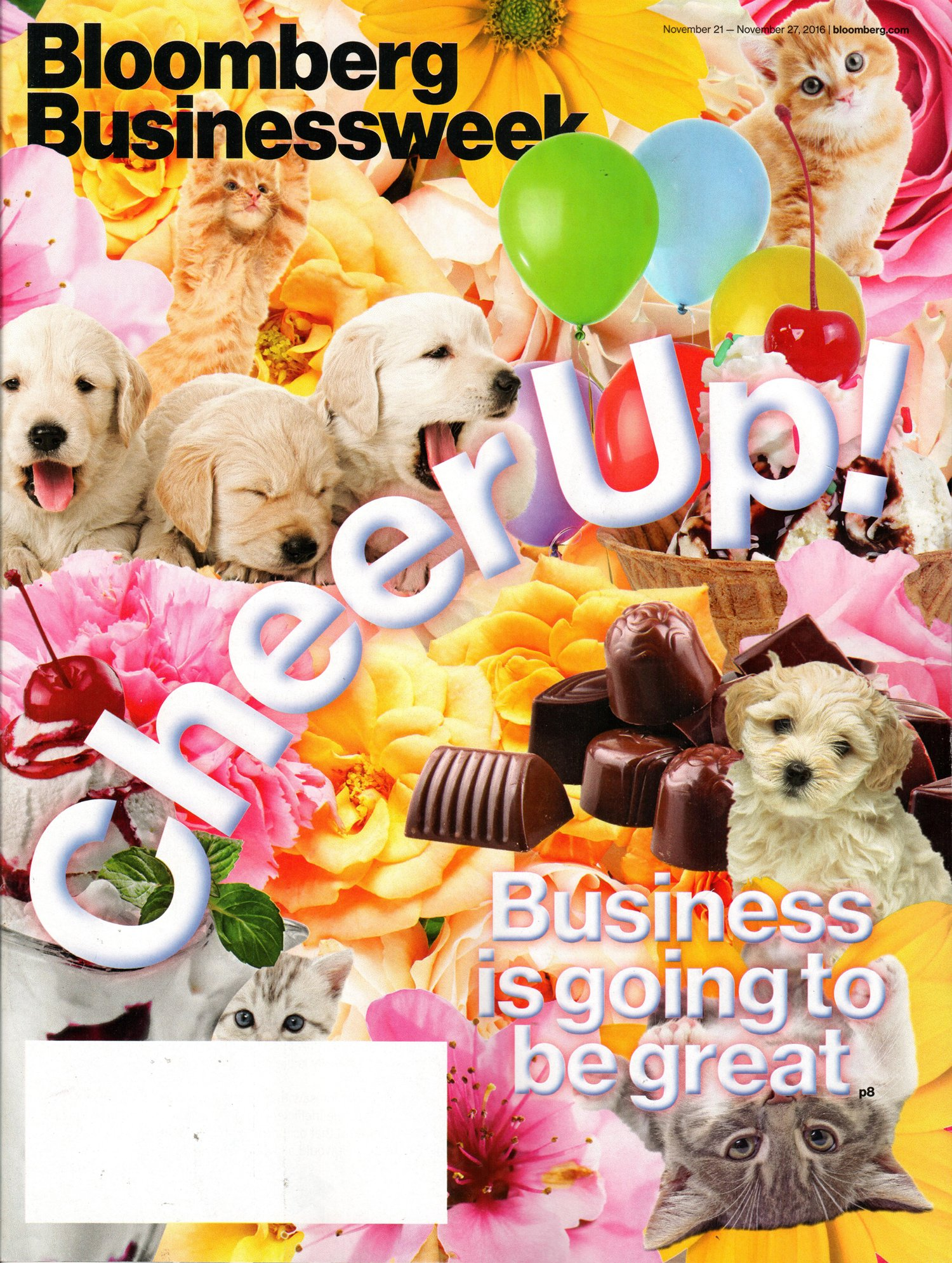 Bloomberg Businessweek November 21-27, 2016 Cheer Up! Business is Going to Be Great ebook