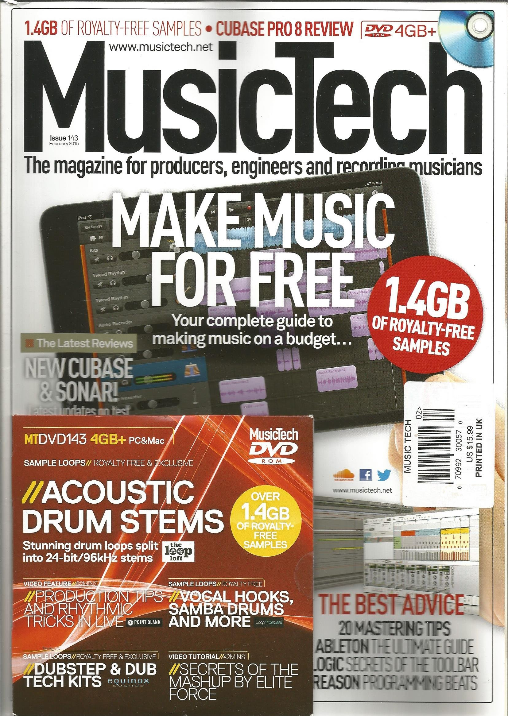 Download Music Tech Magazine (February 2015, Issue 143) pdf