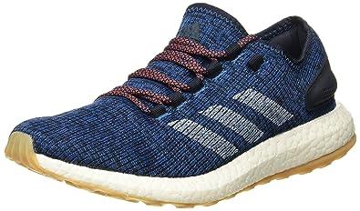 adidas uomini pureboost legink / cwhite / corblu scarpe da corsa 6 uk