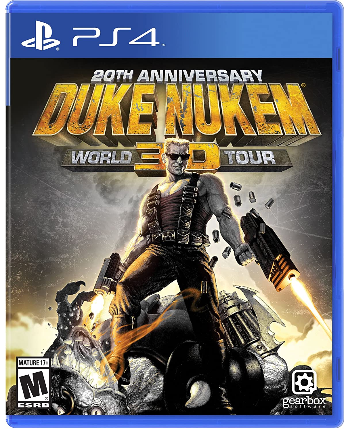Amazon Com Duke Nukem 3d 20th Anniversary World Tour Playstation 4 Video Games