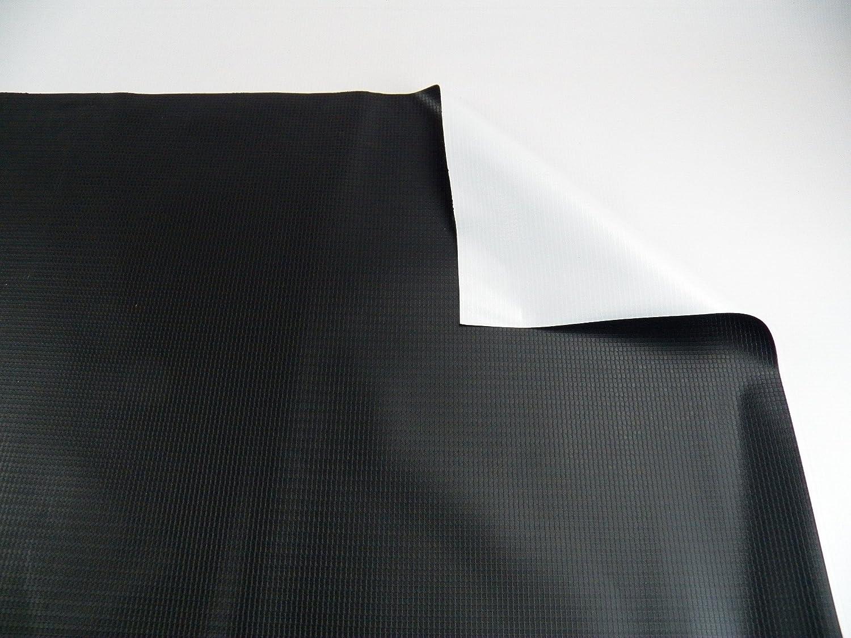 ビニールTarp 9オンスHeavy Dutyブラック/ホワイト防水 48' x 50' 48' x 50' 48' x 50' B00M3FRB2K