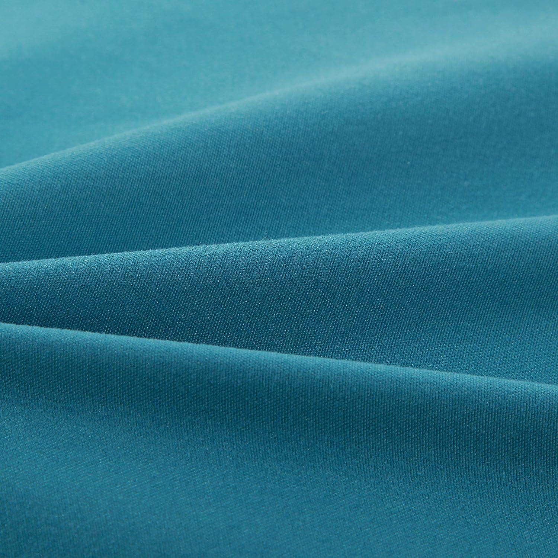 AYSW 18 Couleurs Lot de 2 Taie doreiller 50 x 70 CM Bleu Lac Fermeture /Éclair Dissimul/ée Housse doreiller Anti-Acariens Hypoallerg/énique en Microfibre Zip