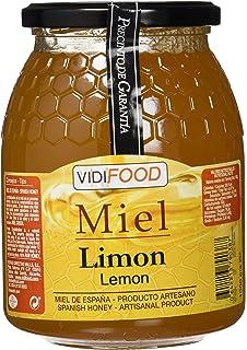 Miel de Limón - 1kg - Fabricada en España - Alta Calidad, tradicional & 100