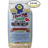 Bob's Red Mills Quick Cooking Organic Steel Cut Oats, The Golden Spurtles 7.1 Lbs Bag