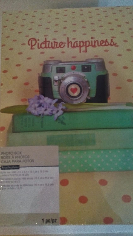 Amazoncom Recollections Photo Album Memory Storage Box Holds