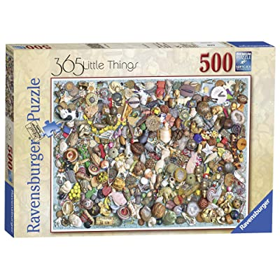 Ravensburger 365 Little Things 500pc Jigsaw Puzzle: Toys & Games