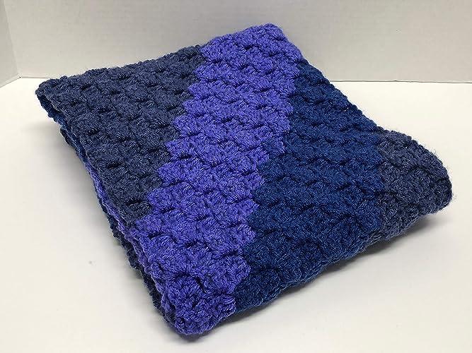 Amazon New Crocheted Corner To Corner Scarf With Diagonal