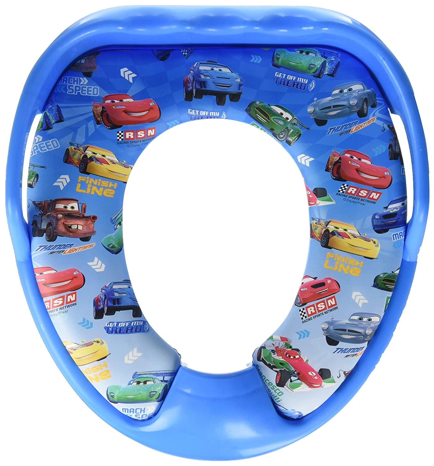 Amazon.com : Disney Pixar Cars - Lightining Mcqueen Toilet Soft ...