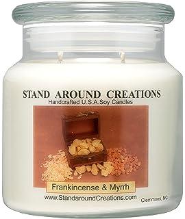 Amazon.com: Captivating Candles Frankincense & Myrrh Scented ...