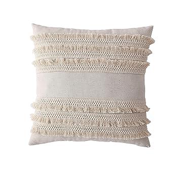 Amazon.com: Funda de cojín decorativa para sofá, sofá o cama ...