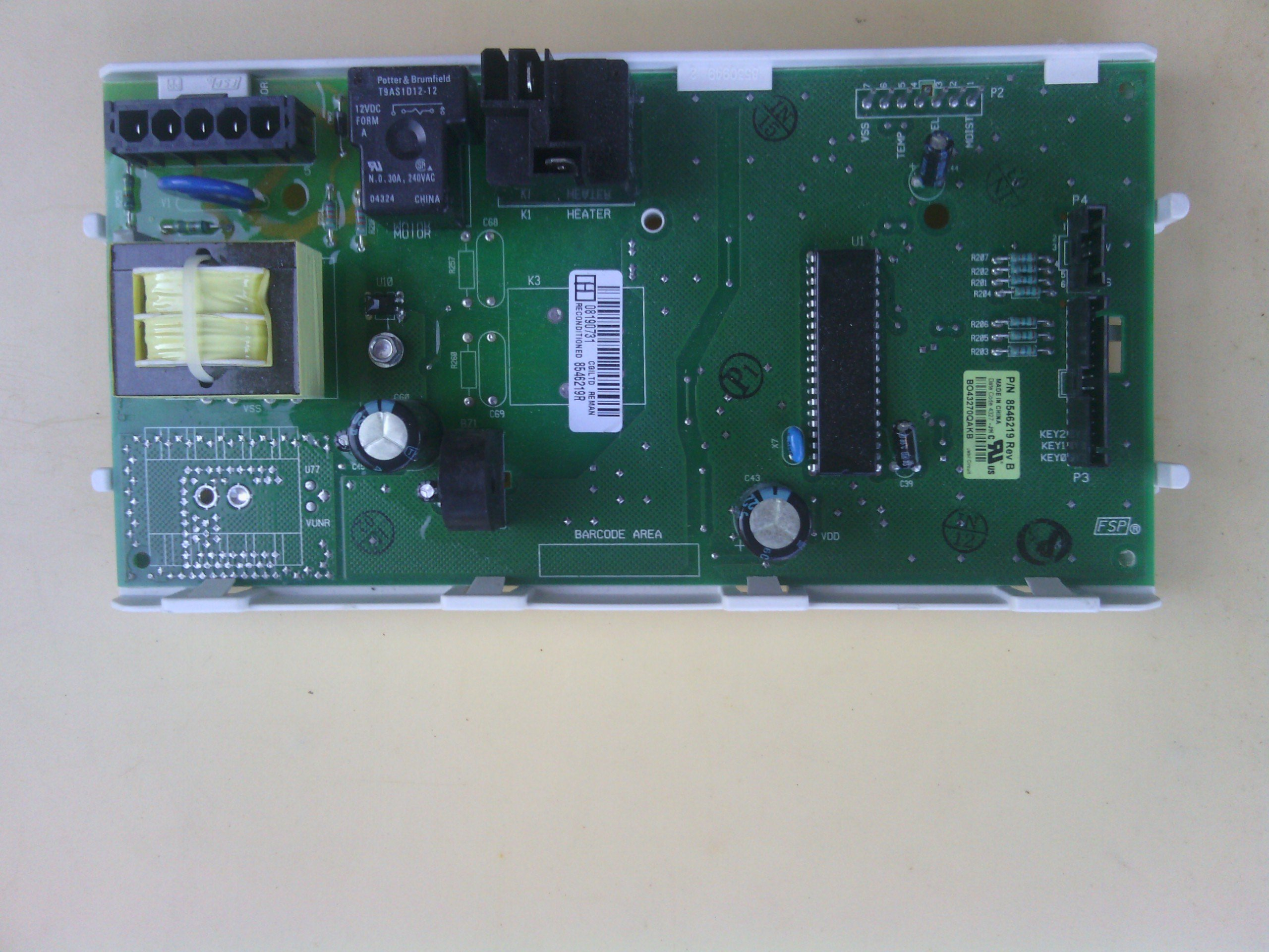 Whirlpool Duet Dryer Electronic Control Board 661653