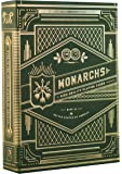 Theory Monarch Playing Cards (Green)