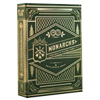 Monarch Playing Cards Green Carte Da Gioco Verdi