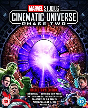Marvel Cinematic Universe Phase 2 Region Free  Rare by Amazon