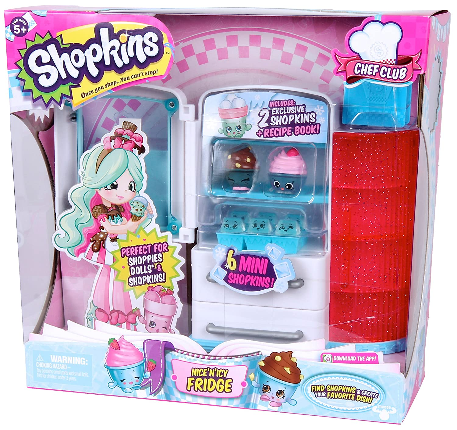 Amazon.com: Shopkins Chef Club Fridge: Toys & Games