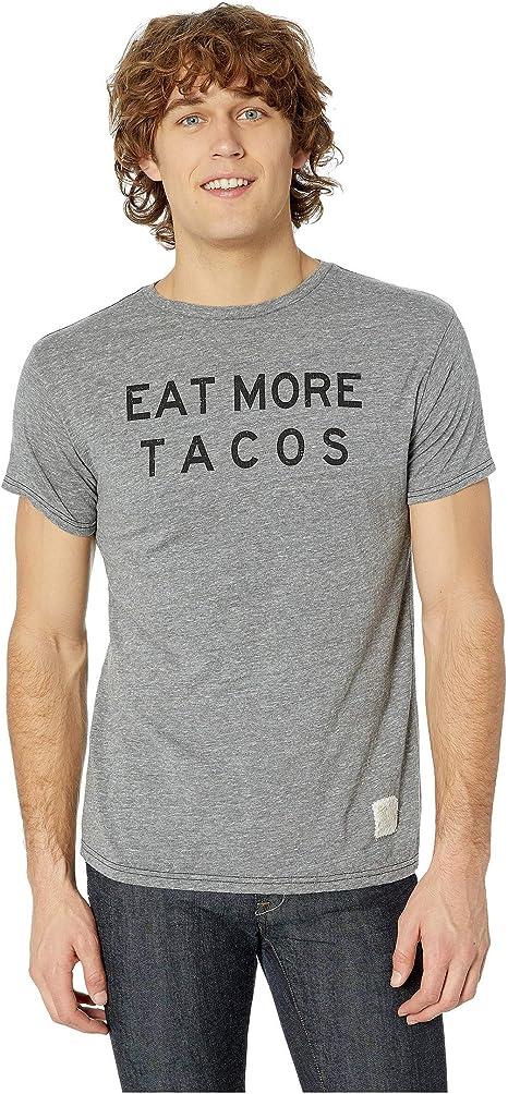 Original Retro Brand The Mens You Had Me at Tacos Vintage Tri-Blend Tee