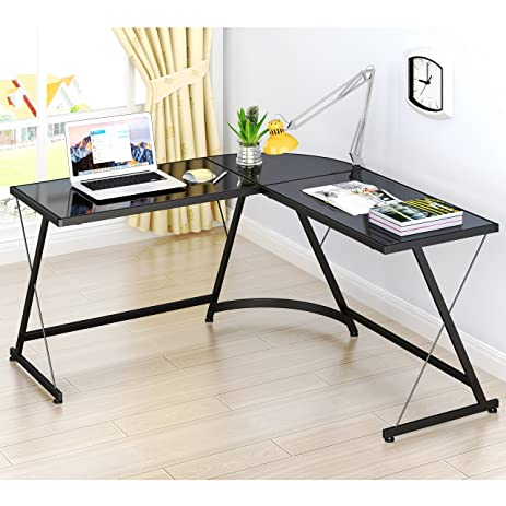 lecrozz l shaped home office corner desk