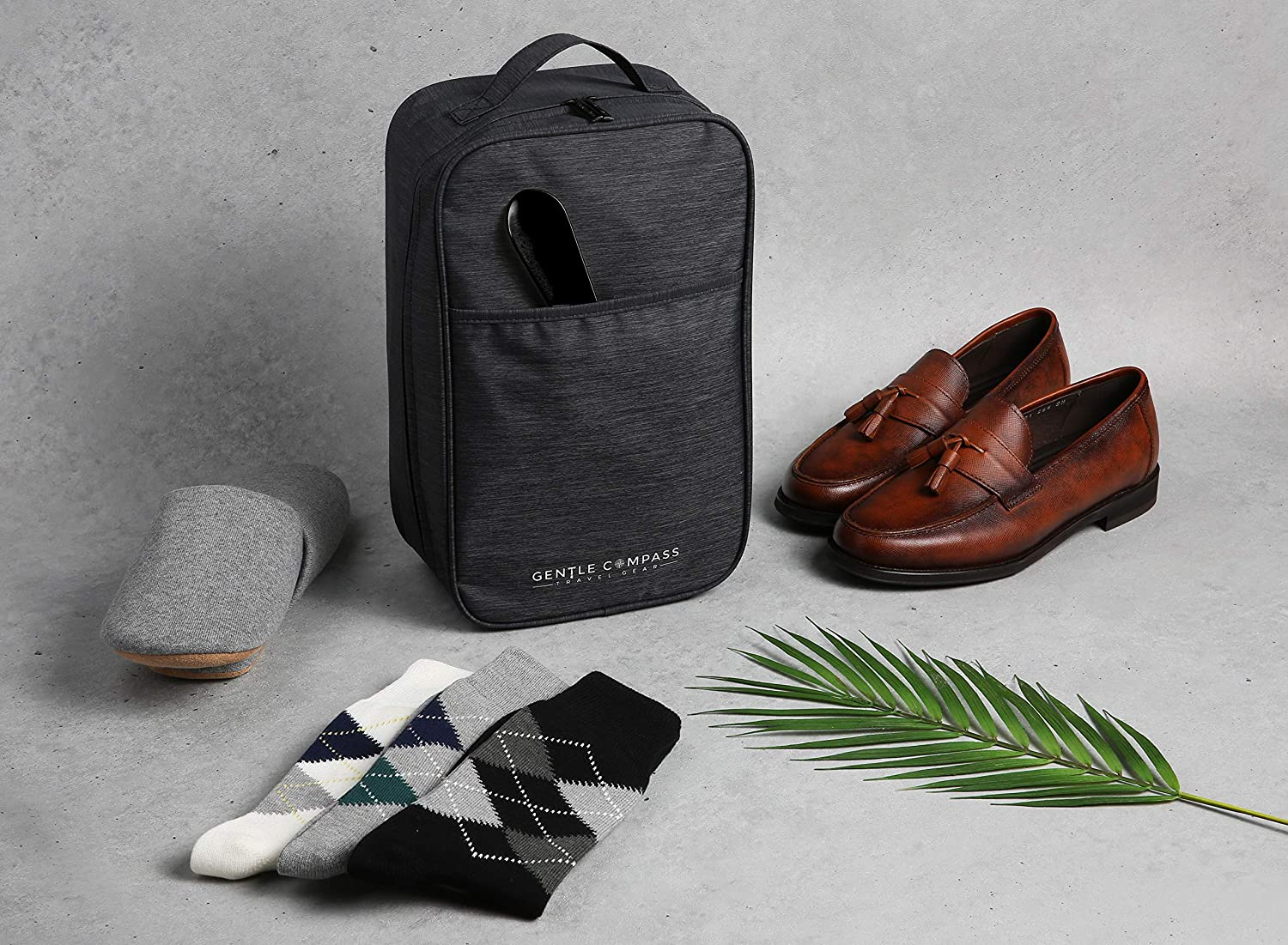 Gentle Compass Travel Shoe Bag...
