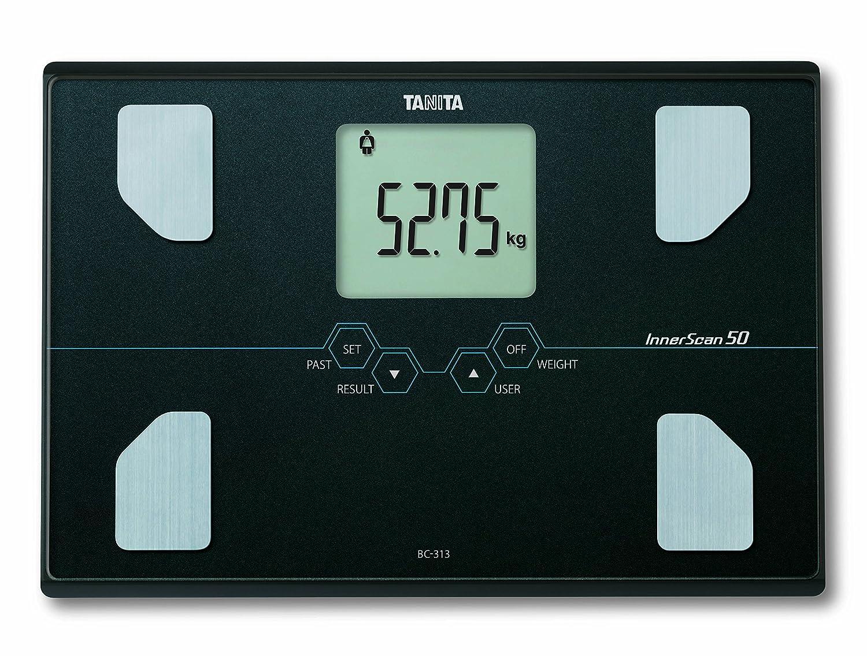 Tanita BC 313 Analizador de la composición corporal con pesaje de precisión ultra de 50 g, color blanco: Amazon.es: Salud y cuidado personal