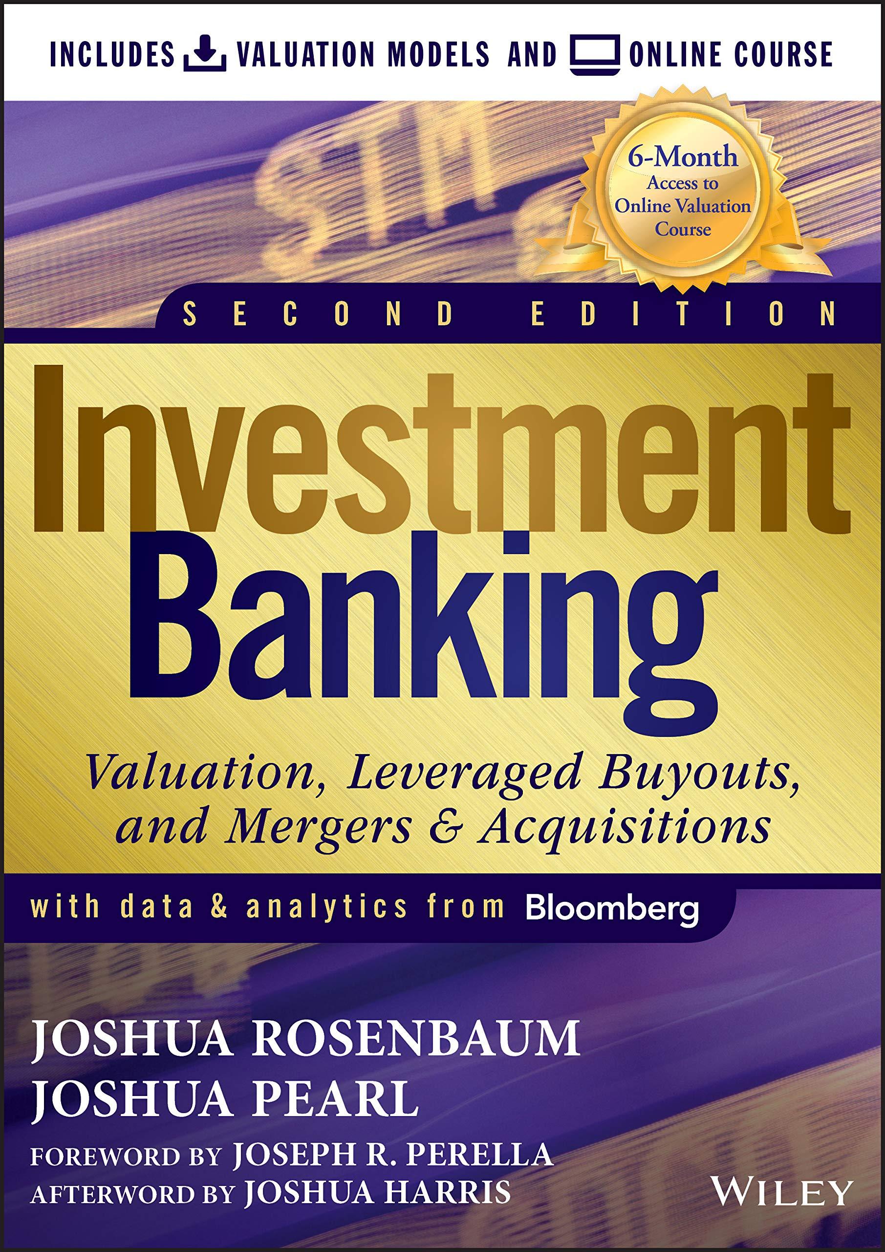 investment banking modeling books
