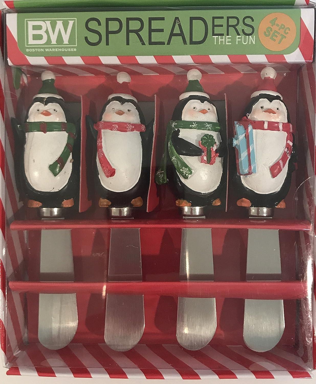 Merry Penguin Spreaders Boston Warehouse